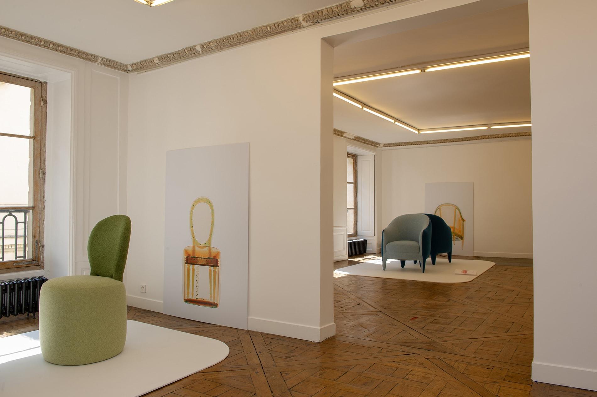 Exposition Héritages fauteuils