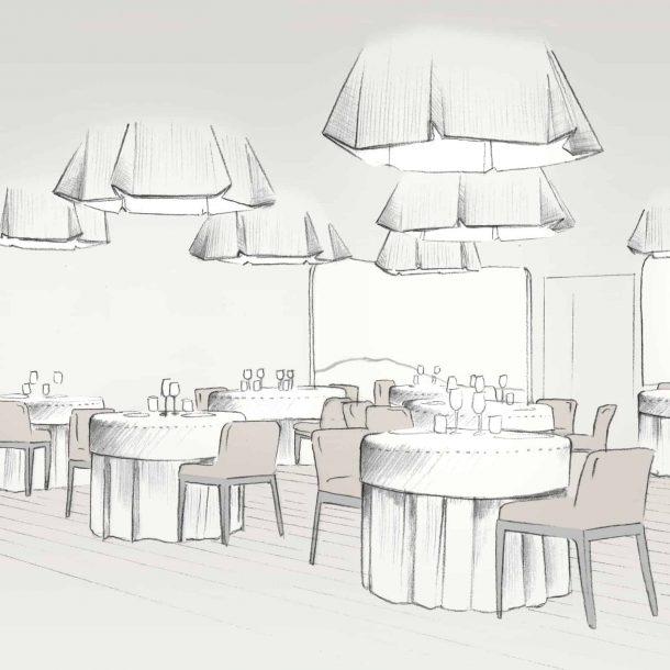 Salle restaurant Le Clos des Sens