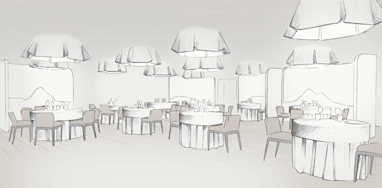 Salle restaurant Clos des Sens